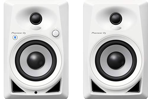 Pioneer DJ, DM-40BT-W, Coppia di monitor Bluetooth, bianco