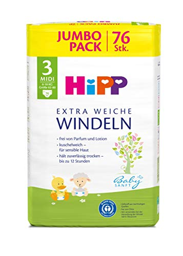 HiPP, Babysanft, Pannolini