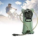 Poche à eau 2L avec système anti-fuite pour sport, vélo, camping, escalade, randonnée XXL...