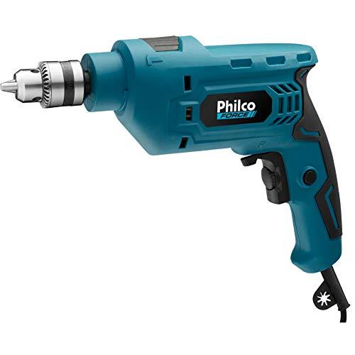 Philco PFU01 Furadeira 127V, Preto/ Azul