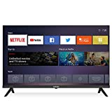 Caixun 32 Inch Smart TV - EC32S1N 720p Flat Screen LED Television Built-in HDMI, USB,Support Screen Cast Mirroring,WiFi (2021 Model 32' TV)