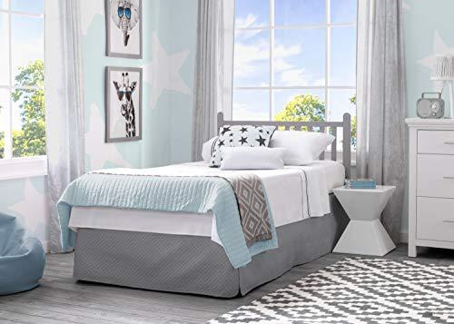 Product Image 10: Delta Children Emery Mini Convertible Baby Crib with 2.75-inch Mattress, Grey
