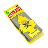 LITTLE TREES Car Air Freshener   Hanging Paper Tree for Home or Car   Vanillaroma   6 Pack