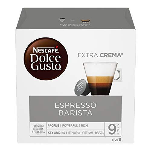Nescafé Dolce Gusto Barista, Caffè Espresso 6 Confezioni da 16 Capsule, 96 Capsule