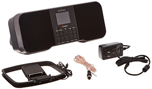 Stereo HD Radio SHD-T750 with AM/FM, Alarms, and Color Display
