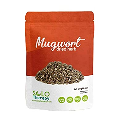 Certified Organic Mugwort 4 oz Artemisia Vulgaris Our mission is to offer High-quality Organic Herbs at a fair price in customer-friendly quantities. 100% MONEY-BACK GUARANTEE: Providing with the friendliest customer service is our number one goal. W...