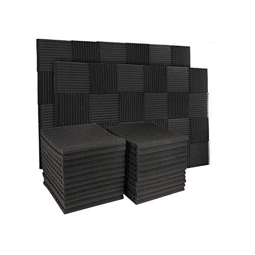 50 Pack Acoustic Panels Soundproof Studio Foam for Walls Sound...