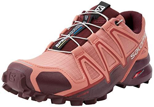 Salomon Speedcross 4 W, Zapatillas de Trail Running Mujer, Rojo (Brick...