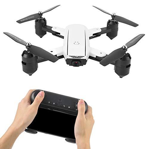 Qinlorgon RC Drone, 500W (1080P) Pixel HD Telecamera grandangolare Pieghevole RC Drone...