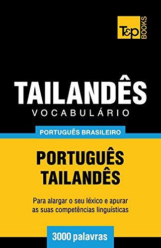 Vocabulário Português Brasileiro-Tailandês - 3000 Palavras