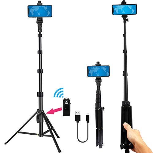 LifeLimit Phone Tripod Stand Selfie Stick 54 Inch