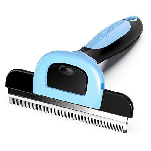 MIU COLOR Pet Grooming Brush, Deshedding Tool for...