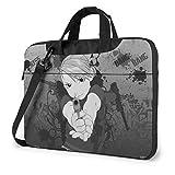 15.6″Durable Hombro Mensajero Bolsa maletín PC Alquimista de Fullmetal Moda Impermeable Ordenador Portátil/portátil/Tablets