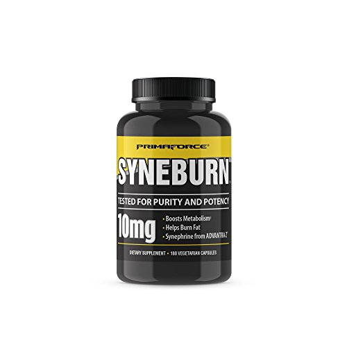 PrimaForce Syneburn Supplement, 180 Capsules – Boosts Metabolism / Helps Burn Fat / Synephrine from ADVANTRA Z