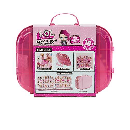 Image 1 - MGA- Jouet et Coffret de Rangement du défilé de Mode ambulant L.O.L. Surprise avec poupée : Hot Pink Toy, 562689, Multicolore