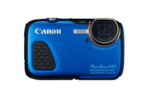 Canon PowerShot D30 - Cámara Digital acuática 12.1 MP (Sumergible hasta 25 m, Pantalla de...