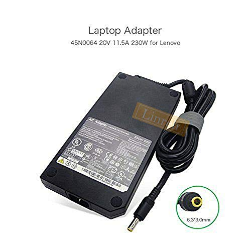 Original 20V 11.5A 230W for Lenovo ThinkPad W700 W700DS W701D 45N0060 45N0061 AC Adapter
