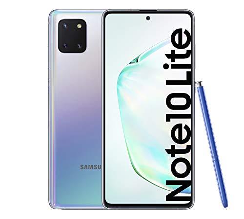 "Samsung Galaxy Note 10 Lite - Smartphone de 6.7"" FHD+ (4G, Dual SIM, 6GB RAM, 128GB ROM, cámara trasera 12MP(W)+12MP(UW)+12MP, cámara frontal 32MP, Octacore Exynos 9810), Aura Glow [Versión española]"