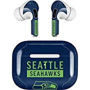 Scratch Protection - Keep your AirPods looking brand new by adding a Seattle Seahawks wrap made of durable 3M Vinyl 3M Vinyl Material - All Skinit AirPods Pro decal wraps are made with auto grade 3M which is guaranteed not to leave any sticker residu...