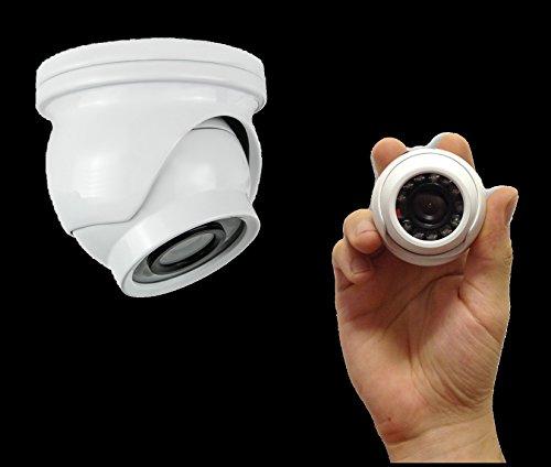 MINI TELECAMERA DOME AHD VIDEOSORVEGLIANZA FULL HD 1080P 3.6MM 12LED VIDEO 1.3MP