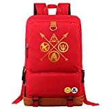Harry Potter Mochila Golden Logo School Bag Hogwarts College Student Rucksack Fashion Casual Laptop Bag The Deathly Hallows 44 * 29 * 14CM Estilo 34