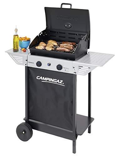 Campingaz BBQ a Roccia Lavica Xpert 100 L Plus Rocky, Barbecue Grill Compatto a 2 Bruciatori, 7.1kW...