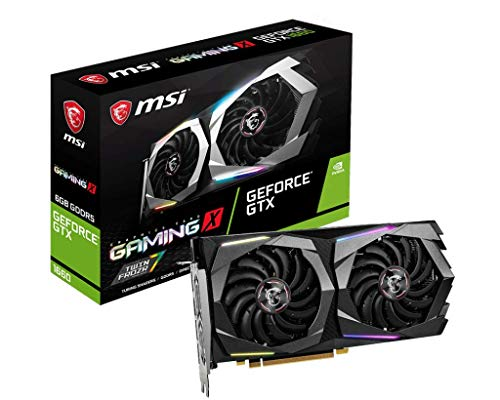 MSI GeForce GTX 1660 Gaming X 6G (6GB GDDR5/PCI Express 3.0/1860MHz/8000MHz)
