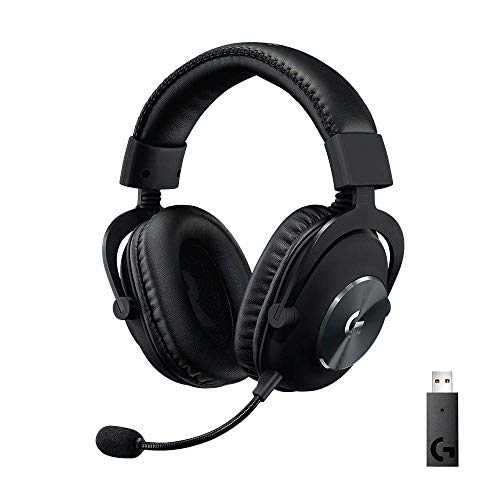 Logitech G PRO X Wireless Lightspeed Gaming Headset with Blue VO!CE...