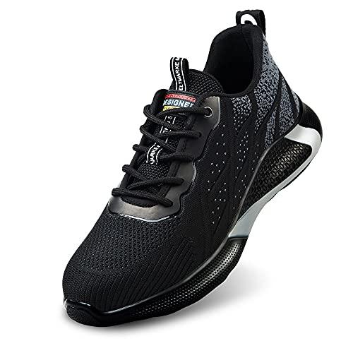 Zapatos de Seguridad Hombre Botas de Trabajo Mujer Botas de...