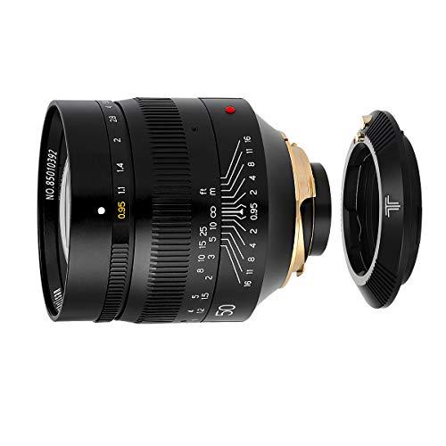 【国内正規品】銘匠光学 TTArtisan 50mm f/0.95 ASPH 「2年保証付」 + キヤノンRFマウント変換