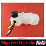Original Mantis Tiller Fuel Tank Kit A350000300, Fits Mantis with 2-Cycle Engines with 3-Hole Grommet and 3-Fuel Hoses