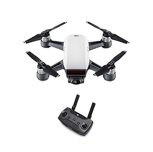 DJI Spark Fotocamera 12 MP I Video Full HD I Autonomia Di Volo 16 Minuti I Piccolo, Leggero E...