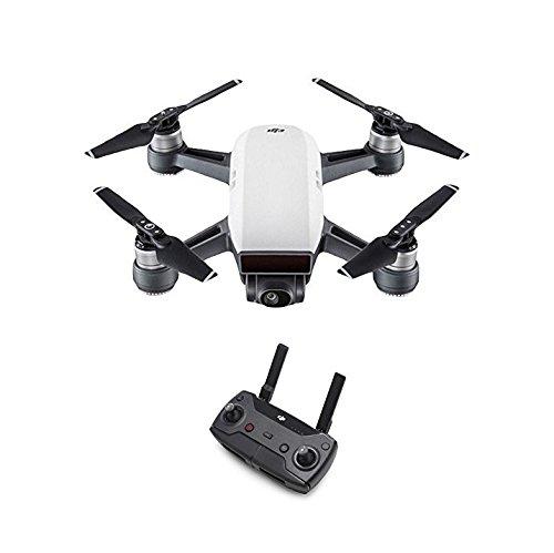 DJI Spark Fotocamera 12 MP I Video Full HD I Autonomia Di Volo 16 Minuti I Piccolo, Leggero E Potente I Sensore Rilevamento Ostacoli, Bianco (Alpine White)