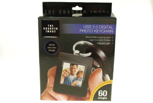 The Sharper Image Photo Digital Keychain USB 2.0