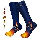 Chaussettes chauffantes pour Homme et Femme, Chaussettes chauffantes électriques à Piles pour...