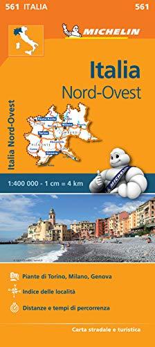 Mapa Regional Italia Nord Ovest (Carte regionali)