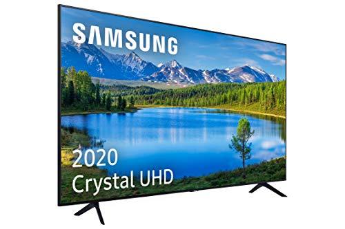 Samsung Crystal UHD 2020 50TU7095 - Smart TV de 50' con Resolución 4K, HDR 10+, Crystal Display, Procesador 4K, PurColor, Sonido Inteligente, Función One Remote Control y Compatible Asistentes de Voz