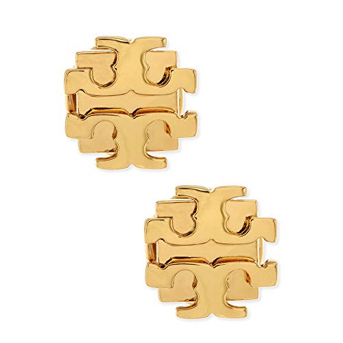 Small size stud earrings This item is packaged by Tory Burch in a Tory Burch gift pouch, and not in a gift box Gold