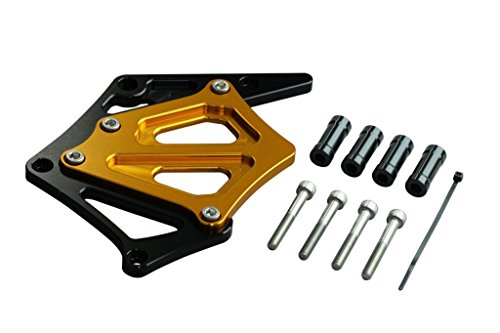 ポッシュ(POSH) スプロケットカバー ブラック/ゴールド CB400SF V-TECH2/3 CB400SB (SUPER BOL D'OR) 051201-46