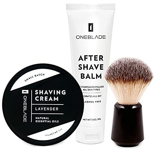 OneBlade Smooth Shave Trio includes Black Tie Shaving Cream...