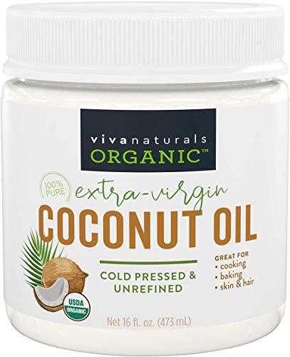 Viva Naturals Organic Virgin Coconut Oil 16 Fl Oz...