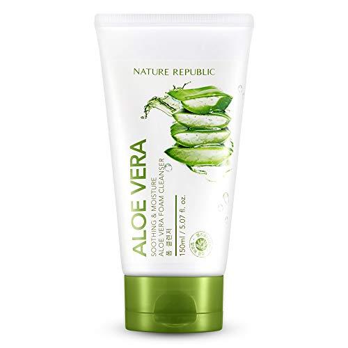 Nature Republic Soothing & Moisture Aloe Vera Foam Cleanser 150ml
