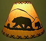 18 Inch Bear Rustic Lamp Shade.....Click on Photos to View Sizing and Style Options!