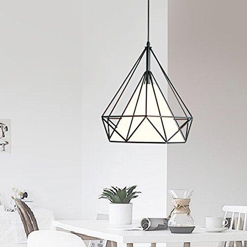 Lx.AZ.Kx E27 Moderno lampade a sospensione Retro Vintage Industriale Stile La American Industrial...