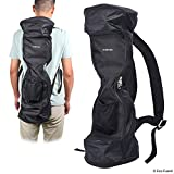 Waterproof Backpack to Carry/Store Your Drifting Board (Two Wheels Smart Balance Board Scooter Electric Drifting Board) - Mesh Pocket - Carry Handle - Dual Zipper - 9.84' Wheels and max. 27.55' Long