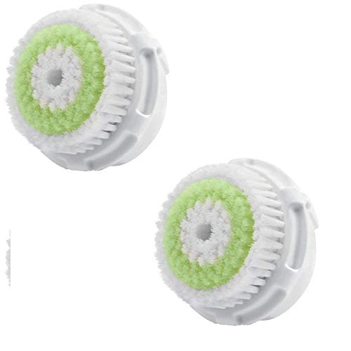 Clarisonic Acne Compatible Replacement Facial Cleansing Brush Heads Replacements For Acne Prone Skin and Clogged Pores