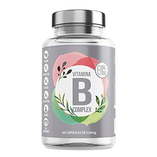 Vitamina B Complex- Aquisana cápsulas   Complejo de Vitamina B con Minerales   Vitaminas B6 y B12  Refuerza Tus Defensas + Energía -libre de alérgenos-(60 Cápsulas)