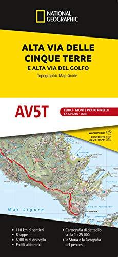 Alta Via delle Cinque Terre (Da Porto Venere a Levanto) e Alta Via del Golfo (da Porto Venere a Bocca di Magra) 1:25.000