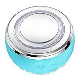 joyMerit Masajeador Facial Limpiador Facial Mquina de Alta Frecuencia 4 LED Light Lift Skin - Azul