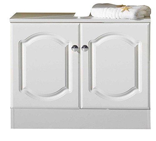 Held Möbel 092.2069 List Unterbeckenschrank 2-türig, 70x56x35 cm, weiß